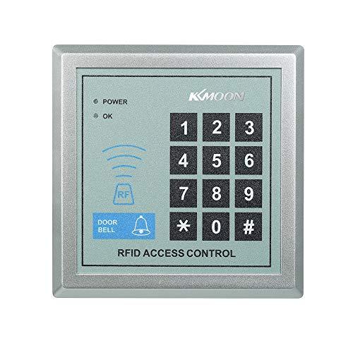 KKmoon RFID Nähe Türeinstieg Access Control System + 10 Schlüsselanhänger Fingerprint türöffner türglocke